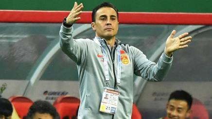 Fabio Cannavaro, neo c.t. della Cina. Afp