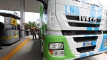 Rifornimento di metano di un camion