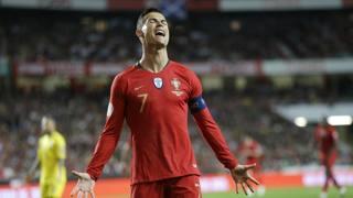 Cristiano Ronaldo. Ap