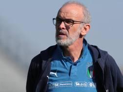 Il tecnico dell'Italia Under 20 Nicolato. Getty