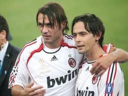 Paolo Maldini e Filippo Inzaghi
