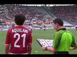 Il momento in cui Aquilani debutta in A nel 2003 nel suo video postato su Instagram