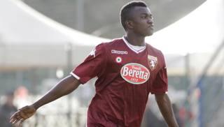 L'attaccante  Musa Juwara, 17 anni, di proprietà del Chievo. LaPresse
