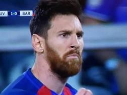 Lionel Messi, attaccante del Barcellona