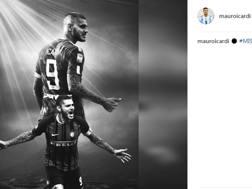 Il post di Icardi su Instagram