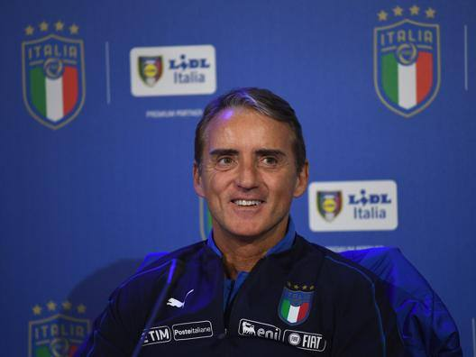 Roberto Mancini. Getty