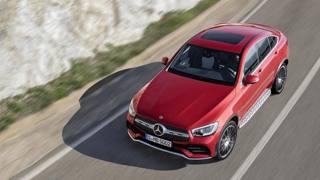 Che grinta la rinnovata Mercedes Glc Coupé