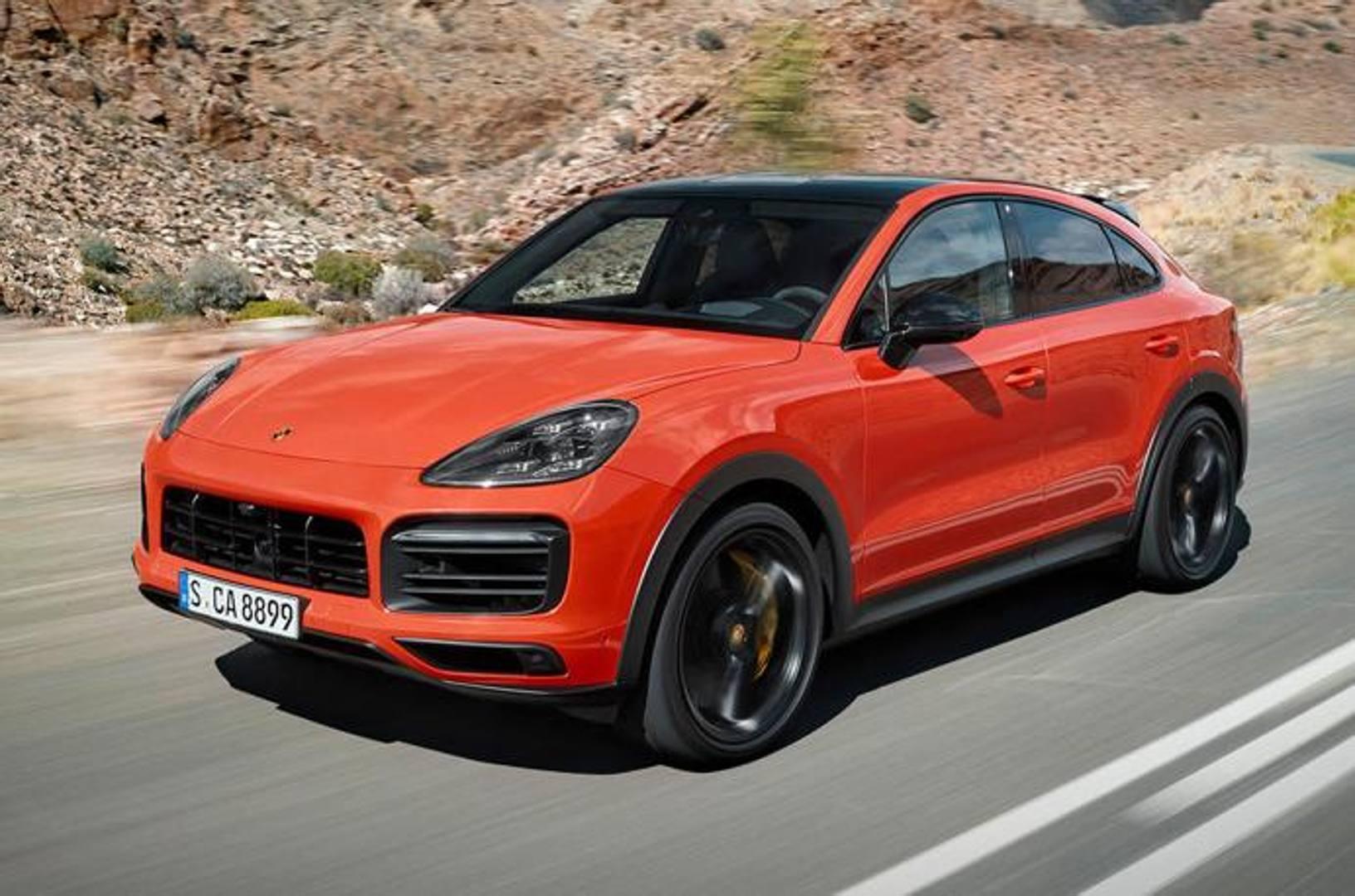 La Porsche ha presentato la versione Coupé del Cayenne