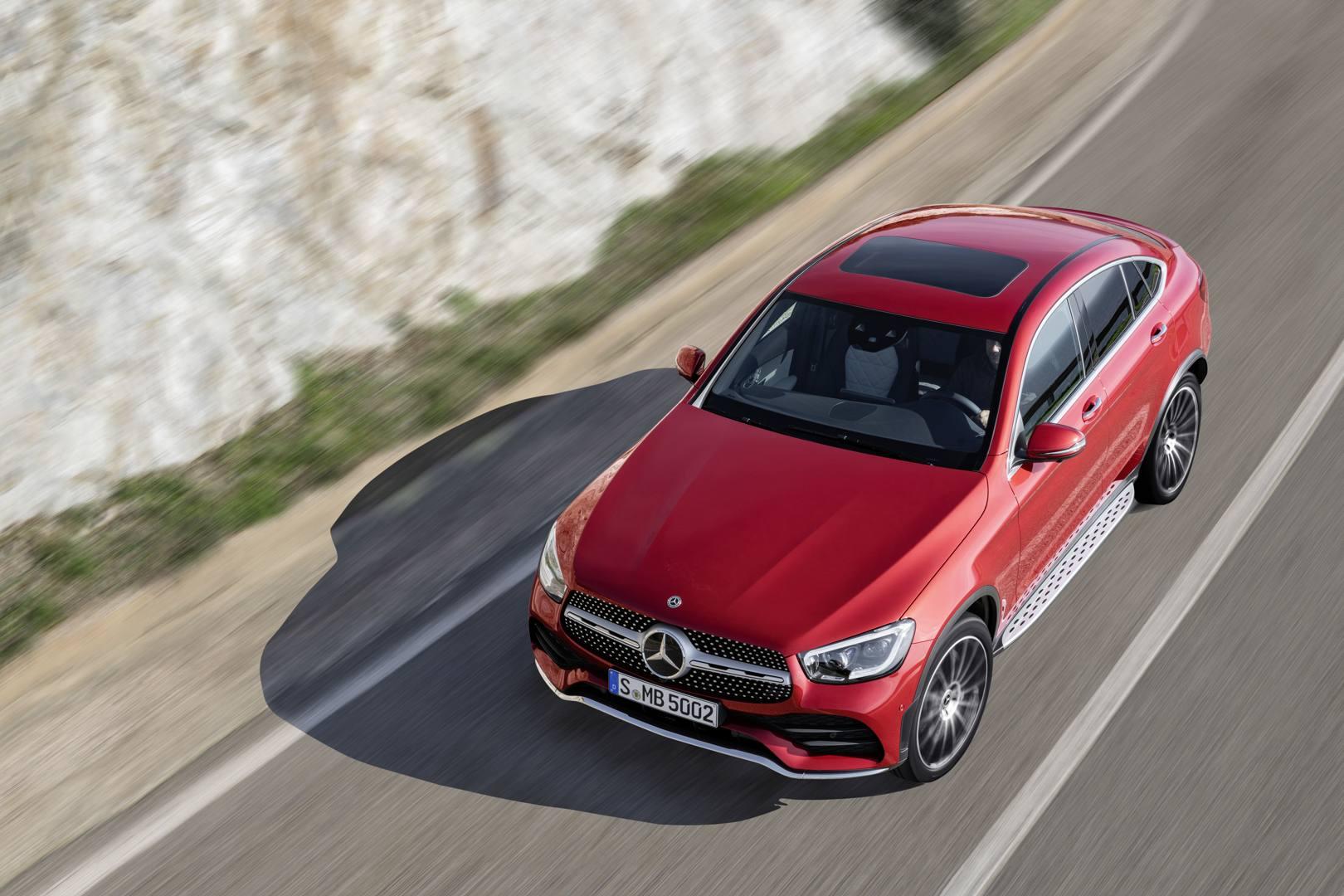 Dopo il restyling della Glc, Mercedes ha rinnovato anche la Glc Coupé
