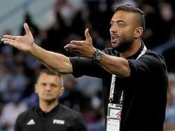 Mido, ex allenatore dell'Al-Wahda, 36 anni. Epa