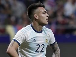 Lautaro Martinez, attaccante dell'Inter e della nazionale argentina. Getty
