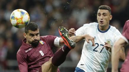 Rincon nella sfida con l'Argentina. Getty