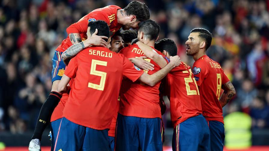 La Spagna batte la Norvegia Vincono Bosnia e Grecia