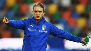 Il c.t. della Nazionale Roberto Mancini, 54 anni GETTY