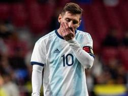 Lionel Messi, attaccante della nazionale argentina. Afp