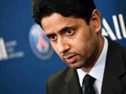 Nasser Al-Khelaïfi, presidente del Paris Saint-Germain, 45 anni. Afp