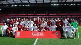 Liverpool-Milan vecchie glorie. Quante leggende in campo ad Anfield