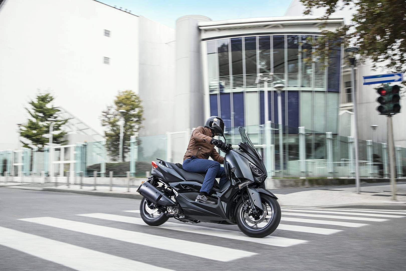 Lo Yamaha XMax 300 è tra gli scooter più apprezzati nella sua classe di cilindrata