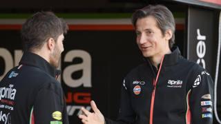 Massimo Rivola a.d. di Aprilia Racing. Milagro