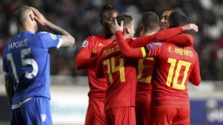Due vittorie su due per il Belgio. Ap