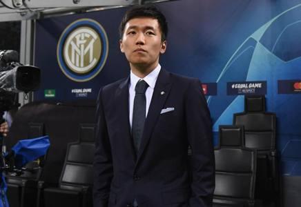 Il presidente dell'Inter Steven Zhang . Getty