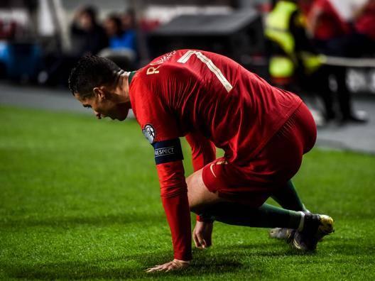 Cristiano Ronaldo, 34 anni. Ap