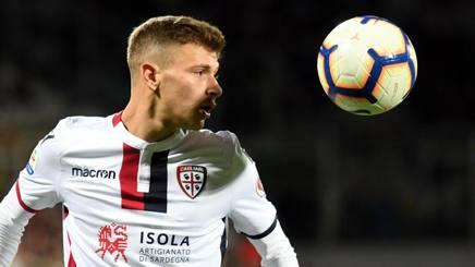 Nicolò Barella, 22 anni, centrocampista del Cagliari e della Nazionale. Ansa
