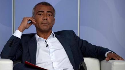 Romario, 53 anni. Afp
