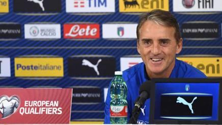 Il c.t. della Nazionale, Roberto Mancini. Getty