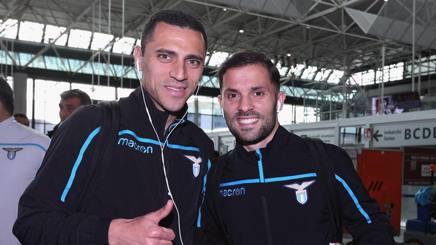 Romulo e Riza Durmisi, esterni della Lazio. Getty