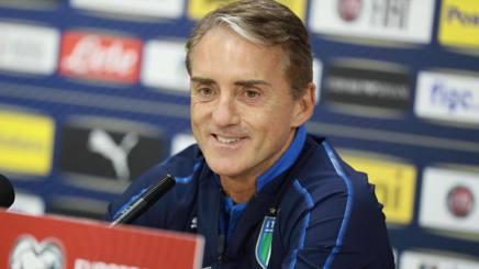 Il c.t. della Nazionale, Roberto Mancini. Ansa