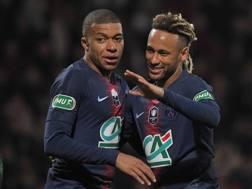 Kylian Mbappé e Neymar.