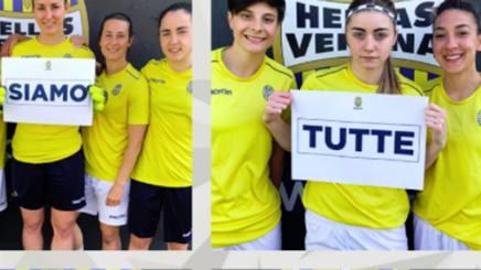 Il messaggio delle giocatrici del Verona Women. Instagram