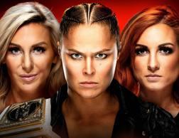 Charlotte Flair, Ronda Rousey e Becky Lynch