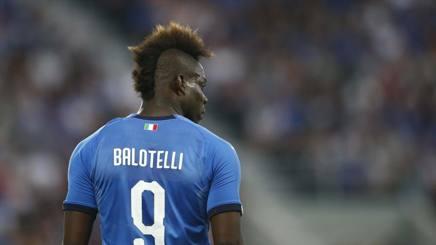 Mario Balotelli. LaPresse