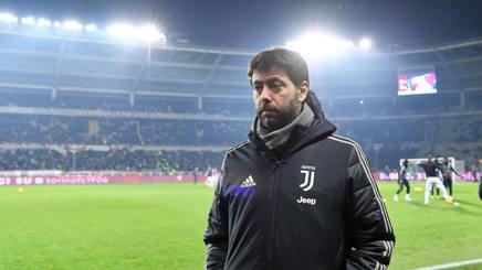 Andrea Agnelli, presidente della Juventus e dell'Eca