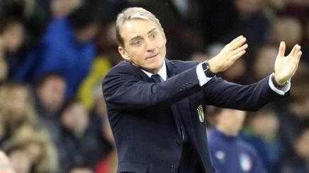 Roberto Mancini, allenatore dell'Italia. Ansa