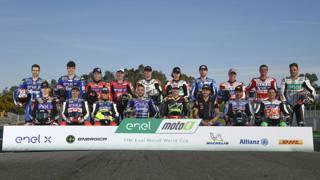 I partecipanti al campionato Moto E