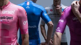Le nuove maglie del Giro. LAPRESSE