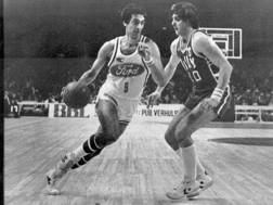 Bariviera contro Premier nella finale di Coppa Campioni 1983. AFP