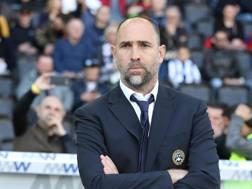 Igor Tudor, allenatore dell'Udinese. Ansa