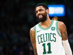 Kyrie Irving, 27 anni, seconda stagione a Boston. Afp