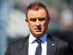 Leonardo Semplici, allenatore della Spal. Ansa