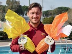 Francesco Totti testimonial Ail