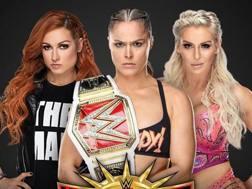 Becky Lynch, Ronda Rousey e Charlotte Flair