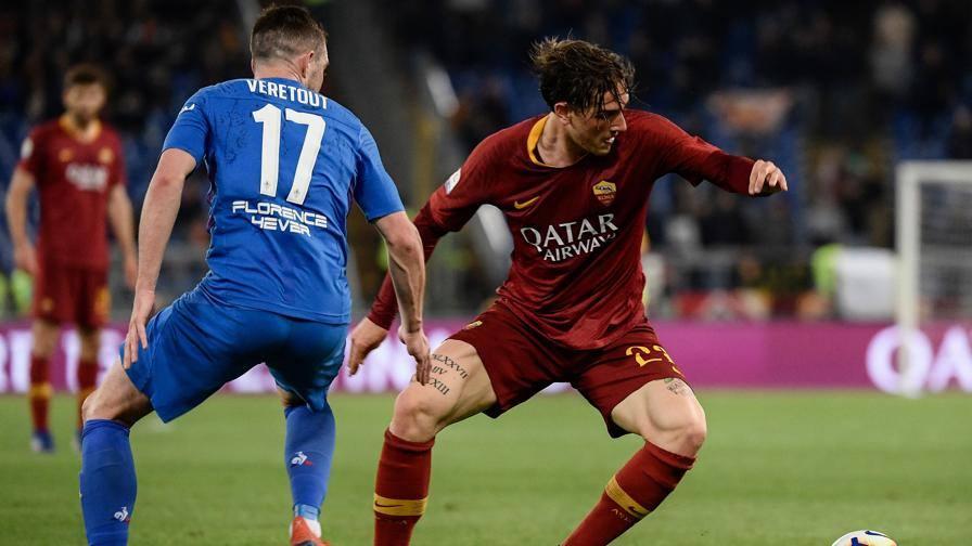 Avvio di ripresa confuso LIVE Roma-Fiorentina 1-1