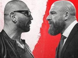 Triple H e Batista, protagonisti di Wrestemania