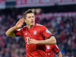 Robert Lewandowski, 30 anni, attaccante del Bayern AFP