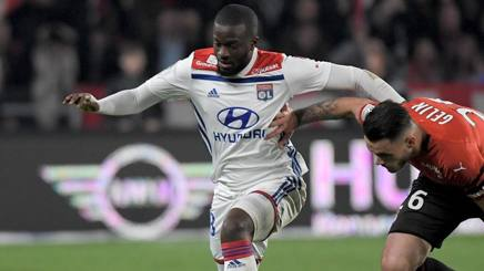 Tanguy Ndombele, 22 anni. Afp