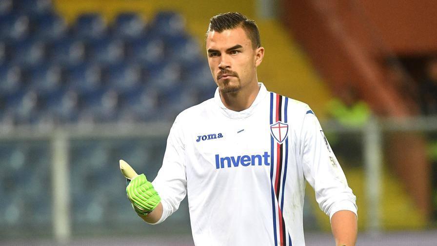 Defrel impegna Mirante LIVE Sampdoria-Roma 0-0